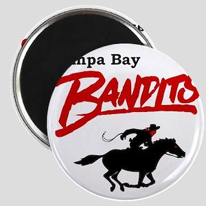 Tampa Bay Bandits Retro Logo Magnet