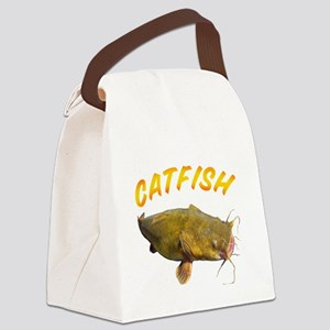Catfish side Canvas Lunch Bag