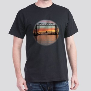 Sunrise under the Bridge Dark T-Shirt