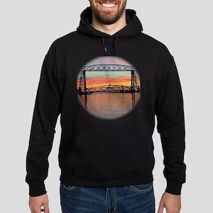 Sunrise under the Bridge Hoodie (dark)