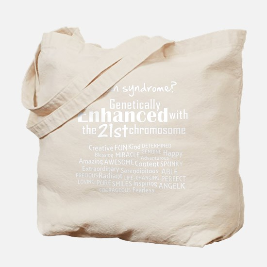 Down syndrome? Tote Bag