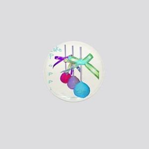 Cake Poppin Mini Button
