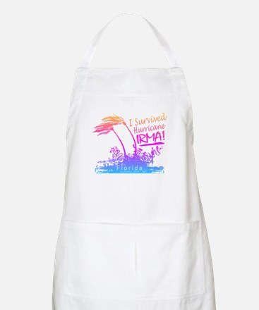 I Survived Hurricane Irma Light Apron