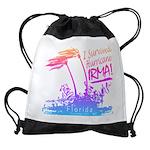 I Survived Hurricane Irma Drawstring Bag