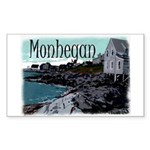 Monhegan Rectangle Sticker