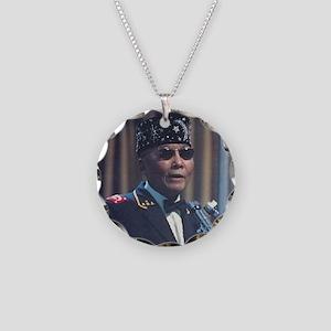 The Most Hon. Elijah Muhamma Necklace Circle Charm