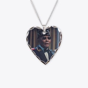 The Most Hon. Elijah Muhammad Necklace Heart Charm