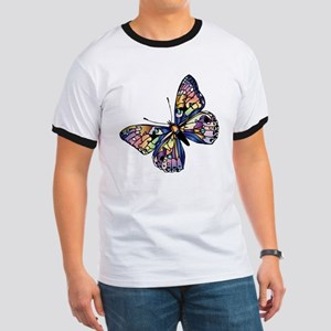 Exotic Butterfly Ringer T