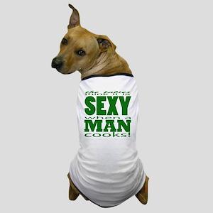 Sexy Man Green Dog T-Shirt