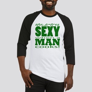 Sexy Man Green Baseball Jersey