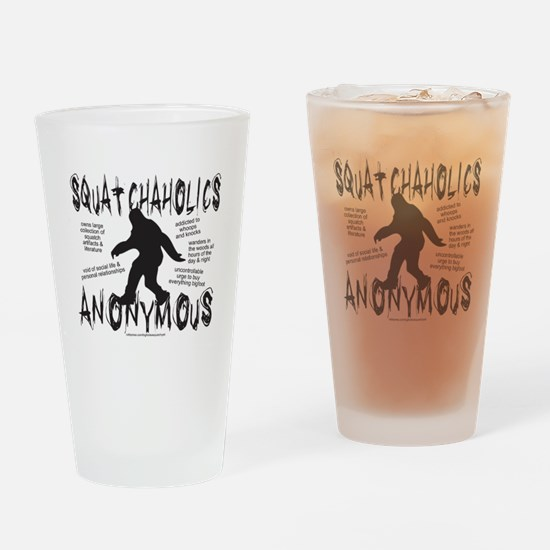 SQUATCHAHOLICS ANONYMOUS Drinking Glass