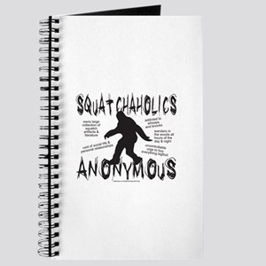 SQUATCHAHOLICS ANONYMOUS Journal