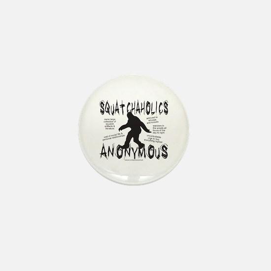 SQUATCHAHOLICS ANONYMOUS Mini Button