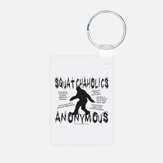 SQUATCHAHOLICS ANONYMOUS Keychains