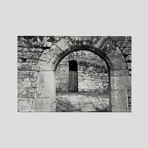 Castle arch Rectangle Magnet