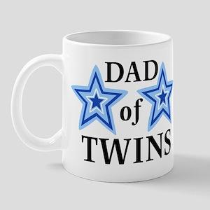 Dad of Twins (Boys) Mug