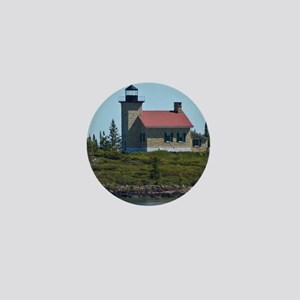 Copper Harbor Lighthouse Mini Button