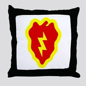 25th ID Throw Pillow