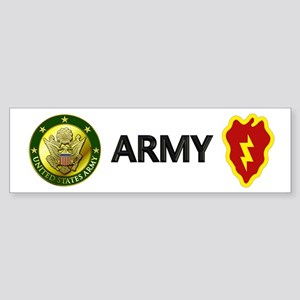 Big Red One Bumper Sticker