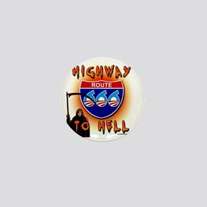 Highway to Hell Reaper obama Mini Button
