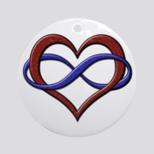 Polyamory Pride Designs Ornament (Round)
