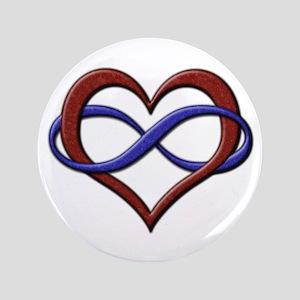 "Polyamory Pride Designs 3.5"" Button"