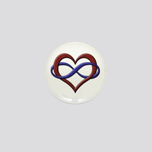 Polyamory Pride Designs Mini Button