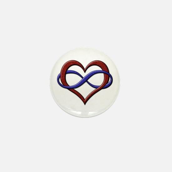Polyamory Pride Designs Mini Button