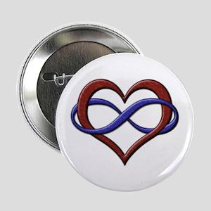 "Polyamory Pride Designs 2.25"" Button"