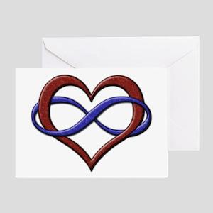 Polyamory Pride Designs Greeting Cards
