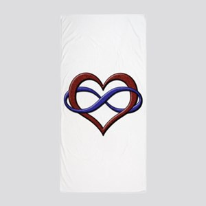 Polyamory Pride Designs Beach Towel