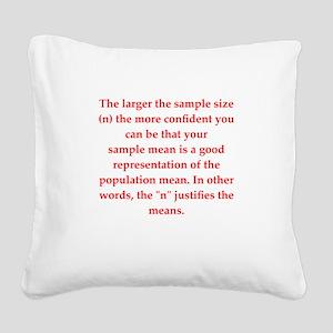 29 Square Canvas Pillow