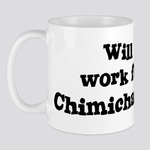 Will work for Chimichangas Mug