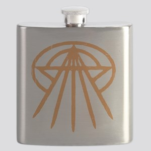 cthulhu-star3-orng-T Flask