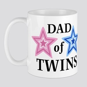 Dad of Twins (Girl, Boy) Mug