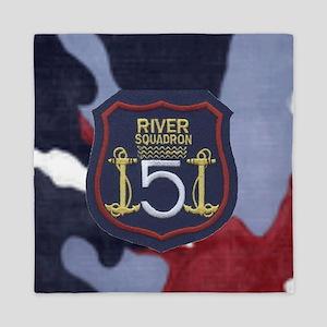 River Squadron 5 Queen Duvet