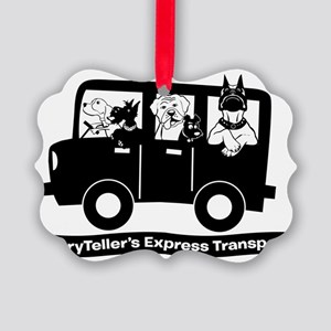 StoryTellers Express Transport Picture Ornament