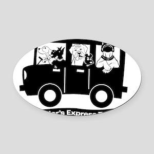 StoryTellers Express Transport Oval Car Magnet