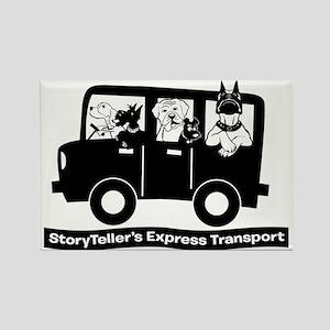 StoryTellers Express Transport Rectangle Magnet