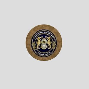 US Navy Diver Mini Button