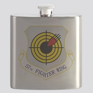 57th Fighter Wing Flask