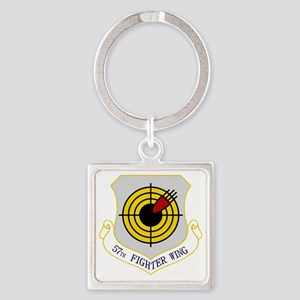 57th Fighter Wing Square Keychain