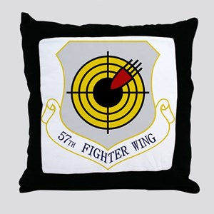 57th Fighter Wing Throw Pillow