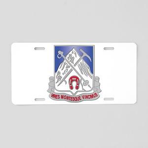 DUI - 2nd Bn - 87th Infantry Regiment Aluminum Lic