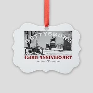 Civil War Gettysburg 150 Annivers Picture Ornament