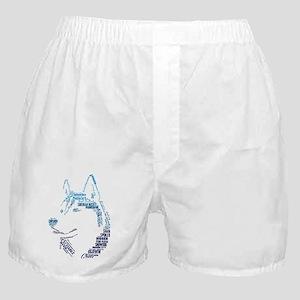 Husky Words Boxer Shorts