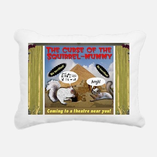 Curse of the Squirrel Mu Rectangular Canvas Pillow