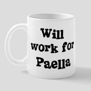 Will work for Paella Mug