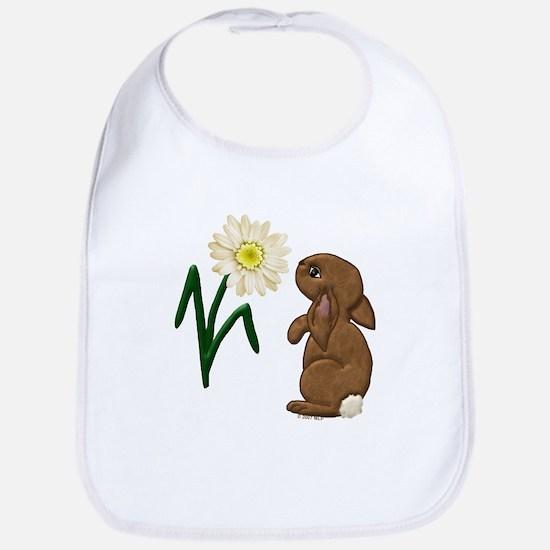 Spring Bunny Bib