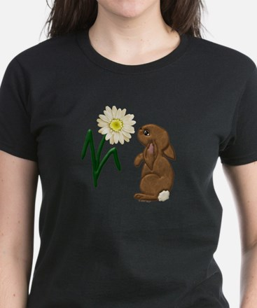 Spring Bunny Women's Dark T-Shirt